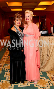 Annie Totah and Carole Margaret Randolph. Sibley Hospital Hope & Progress Gala. Four Seasons Hotel. November 7, 2009. photos by Tony Powell