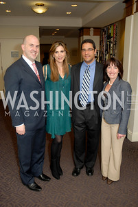 Ed Spitzberg, Andrea Kirstein, Richard Cassagnol, Angela Cassagnol. Photograph by Kyle Samperton