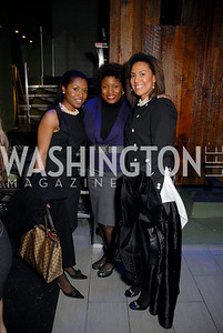 Genevive Hanson, Nia Francis, Natalie Cofield Photo by Kyle Samperton