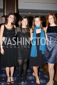 Liz Mustin, Mary Catherine Bain, Leyla Ballantyne, Katy Brookey 4th Annual Friends of St. Jude Blues Ball. November 7, 2009. Photo's by Michael Domingo