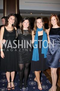 Liz Mustin, Mary Catherine Bain, Leyla Ballantyne, Katy Brookey 4th Annual Friends of St. Jude Blues Ball. November 7, 2009. Photo's by Michael Domingo