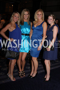 Alicia Fuller, Kelly O'Neill, Meghan O'Neill, Katie Welsh 4th Annual Friends of St. Jude Blues Ball. November 7, 2009. Photo's by Michael Domingo