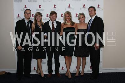 Matt Hill, Kristin Birk, Lance Villio, Lindsay  4th Annual Friends of St. Jude Blues Ball. November 7, 2009. Photo's by Michael Domingo