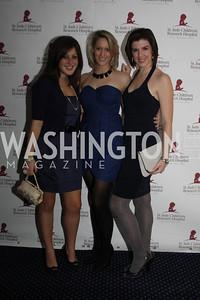 Julie O'Meara, Kristin Tringe, Stefanie Tomkins 4th Annual Friends of St. Jude Blues Ball. November 7, 2009. Photo's by Michael Domingo