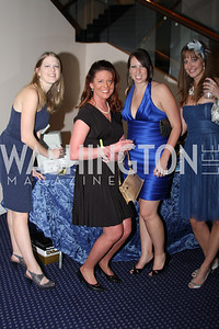 Meghan Trimyer, Kate Kriton, Tonya Richardson, Mallory Trimeyen 4th Annual Friends of St. Jude Blues Ball. November 7, 2009. Photo's by Michael Domingo