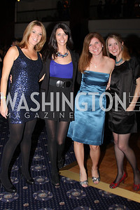 Lara Aulestia, Laura Cernosek, Devon Hagerty, Christine Wells 4th Annual Friends of St. Jude Blues Ball. November 7, 2009. Photo's by Michael Domingo
