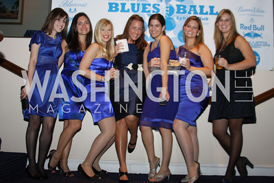Natalie Stephans, Christine Piry, Erin Loomis, Heather Foss, Brittany Baucao, Richel Strege 4th Annual Friends of St. Jude Blues Ball. November 7, 2009. Photo's by Michael Domingo