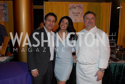 Shahab Farivar, Gladys Abinajin, Maziar Farivar, Photo by Kyle Samperton