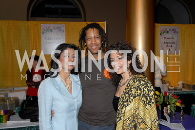 Gladys Abinajin, Warren Brown, Eunice Mazloom, Photo by Kyle Samperton