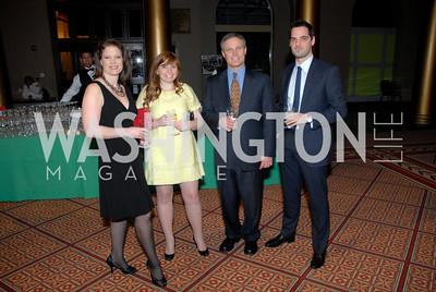 Kara Carmichael, Laura Hoxie, John Harker, Mark Violante, Photo by Kyle Samperton