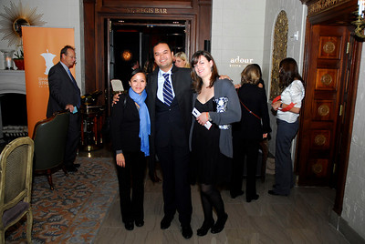 Kyle Samperton,November 4,2009,St.Regis Hotel.Kathy Kuizumi, Jay Poblador,Lauren Whitledge