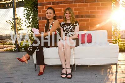 Angela Shin, Dana Kelley, Photograph by Betsy Spurill Clarke