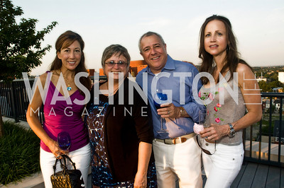 Dina Mackney, Paula Van Ness, Jeff Zell, Joslyn Greenan, Photograph by Betsy Spurill Clarke