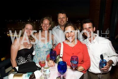 Amy Bolton, Martha Huizenga, Peter Barclay Kim Keleman, Matt Wade, Photograph by Betsy Spurill Clarke