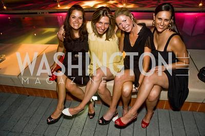 Brooke Stratford, Margaret Lilly, Rachel Merritt, Tara Chantal Silver, Photograph by Betsy Spurill Clarke