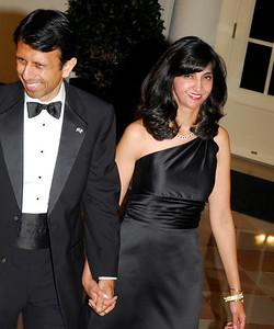 Kyle Samperton,November 24,2009,State Dinner,Gov.Bobby Jindal,Supriya Jindal