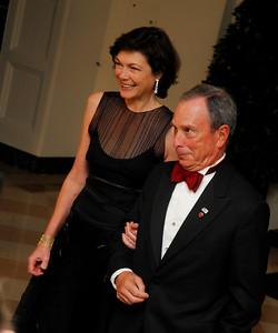 Kyle Samperton,November 2,2009,State Dinner,Diana Taylor,Mayor Michael Bloomberg