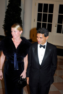 Kyle Samperton,November 24,2009,State Dinner,Paula Throckmorton Zakaria,Fareed Zakaria