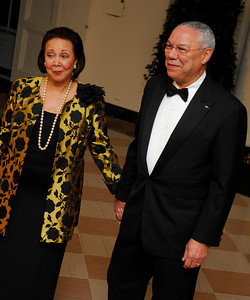 Kyle Samperton,November 24,2009,State Dinner Alma Powell,Gen.Colin Powell