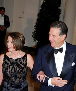 Kyle  Samperton,November 24,2009,State Dinner,Rep.Nancy Pelosi,Paul Pelosi