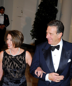 Kyle  Samperton,November 24,2009,State Dinner,Rep.Nancy Pelosi,Paul Pelosi