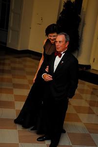 Kyle Samperton,November 24,2009,State Dinner,Diana Taylor Mayor Michael Bloomberg