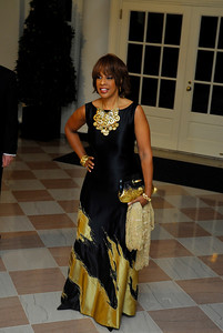 Kyle Samperton,November 24,2009,State Dinner,Gayle King
