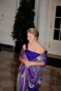 Kyle Samperton,November 24,2009,State Dinner,Katie Couric