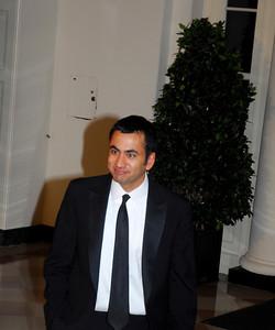 Kyle Samperton,November 24,2009,State Dinner,Kal Penn