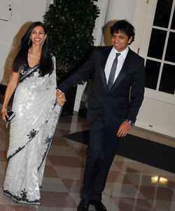 Kyle Samperton,November 24,2009,State Dinner,Bhavna Shyamalan,M.Night Shyamalan