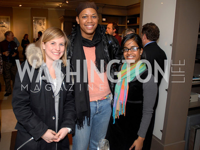 elizabeth ludwig, domique alexander, asma ahmed,  Photo by Kyle Samperton