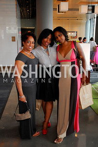 Lanette Blount, Sonya Blount, Renita Gross, Photograph by Kyle Samperton