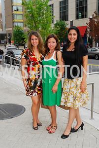 Jeanine Hayen, Vanessa Morales, Sara Neissari, Photograph by Kyle Samperton