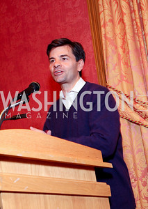 George Stephanopoulos. THEARC's Dr. Seuss Tea. Four Seasons Hotel. October 11, 2009. photos by Tony Powell