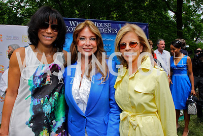 Ann Walker-Marchant, Ivonne Baki, Susan Bennett, photos by Tony Powell