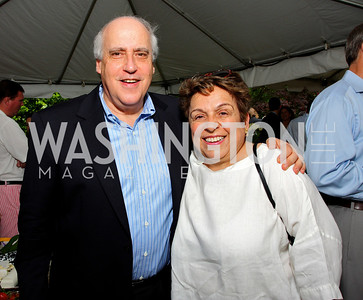 Dan Glickman, Donna Shalala, photos by Tony Powell