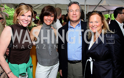 Susan Brophy, Capricia Marshall, Jeff Kindler, Sharon Sullivan, photos by Tony Powell