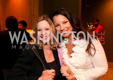 Janet Donovan, Fran Drescher, Photograph by Tony Powell
