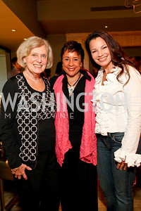 Irene Pollin, Sheila Johnson, Fran Drescher, Photograph by Tony Powell