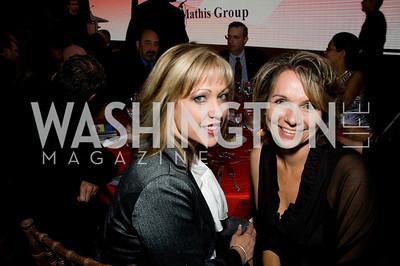 Jillian Chambers, Liz Eberbach. ThanksUSA Gala. Newseum. October 14, 2009. Photos by Betsy Spruill Clarke.