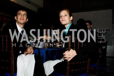 Gabriel Ross, Tamara Sharon. ThanksUSA Gala. Newseum. October 14, 2009. Photos by Betsy Spruill Clarke.