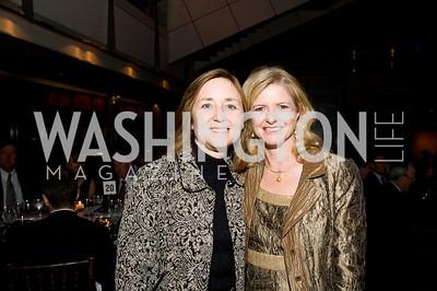 Bonnie Weida, Deana Okun. ThanksUSA Gala. Newseum. October 14, 2009. Photos by Betsy Spruill Clarke.