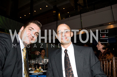 John Gastright, Sgt First Class Eddie Lopez. ThanksUSA Gala. Newseum. October 14, 2009. Photos by Betsy Spruill Clarke.