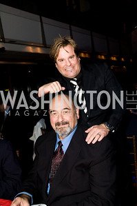 Gary Eberbach, Chris Eberbach. ThanksUSA Gala. Newseum. October 14, 2009. Photos by Betsy Spruill Clarke.