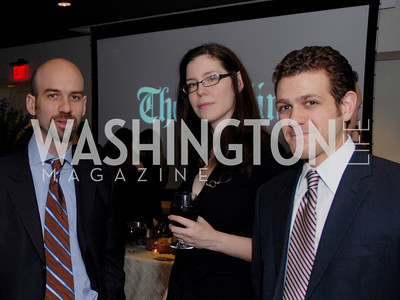 James Bennett, Megan Mcardle, Zander Baron, Photo by Kyle Samperton