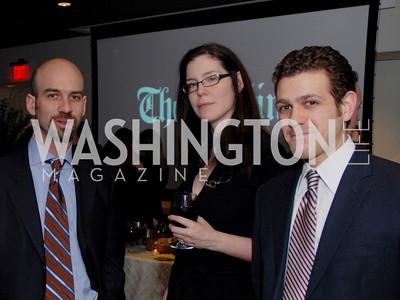James Bennett, Megan Mcardle, Zander Baron, Photo by Kyle Samperton