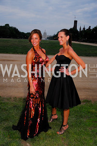 Danielle Wade, Kristin Rae Irish. L'Enfant Society Ball on the Mall 2009. Photos by Kyle Samperton.