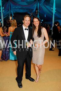 Desmond Fitzgerald, Laura Zuckerman. L'Enfant Society Ball on the Mall 2009. Photos by Kyle Samperton.