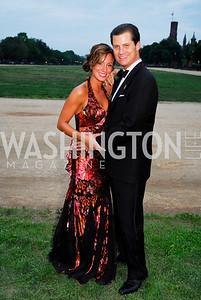 Kristin Rae Irish, John Cecchi. L'Enfant Society Ball on the Mall 2009. Photos by Kyle Samperton.