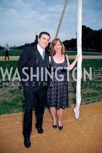 Fraser and Mary Kadera. L'Enfant Society Ball on the Mall 2009. Photos by Kyle Samperton.
